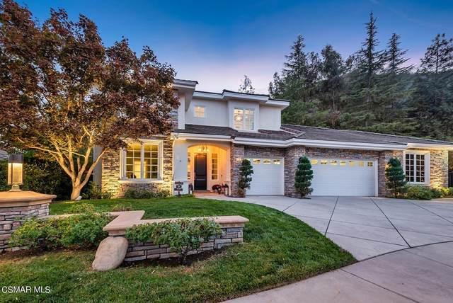 116 Jaycroft Court, Lake Sherwood, CA 91361 (#221005720) :: Blake Cory Home Selling Team