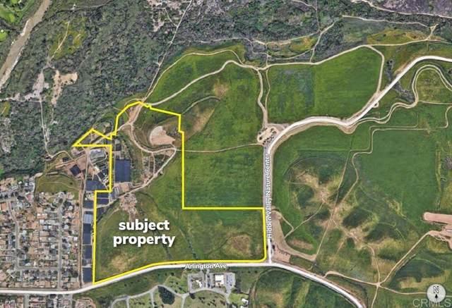 NWC Arlington Ave & Hidden Valley Nature Center Rd, Riverside, CA 92860 (#NDP2112124) :: Compass