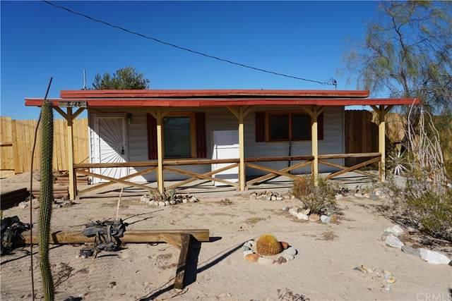 68468 Old Chisholm Trail, 29 Palms, CA 92277 (#JT21233578) :: Team Tami