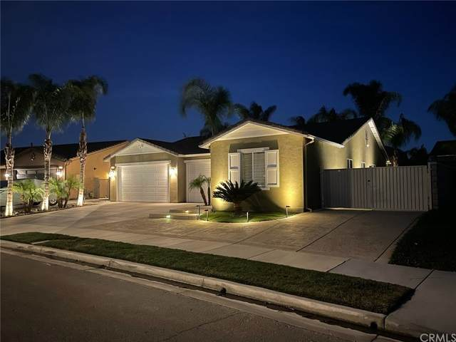 14889 Burrows Way, Eastvale, CA 92880 (#SW21237319) :: The M&M Team Realty
