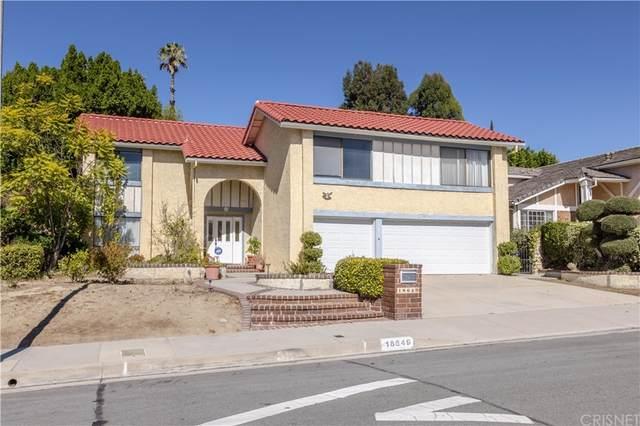 18649 Brasilia Drive, Porter Ranch, CA 91326 (#SR21236630) :: Bill Ruane RE/MAX Estate Properties