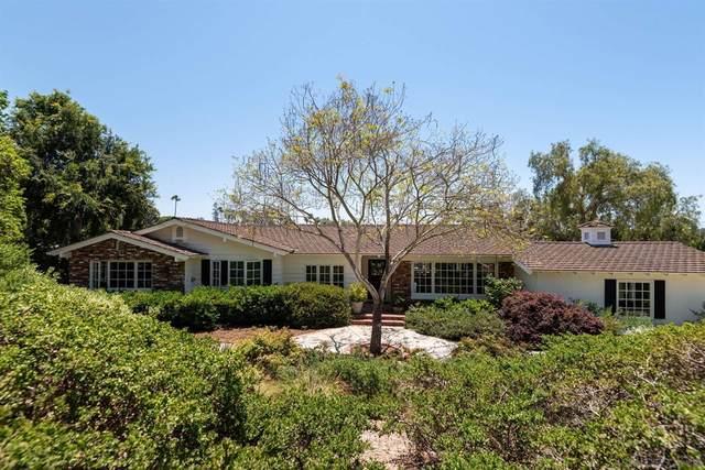 5749 Loma Verde, Rancho Santa Fe, CA 92067 (#210020408) :: Cochren Realty Team | KW the Lakes