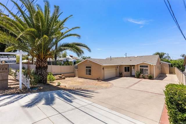 819 9th St, Ramona, CA 92065 (#NDP2108458) :: Doherty Real Estate Group