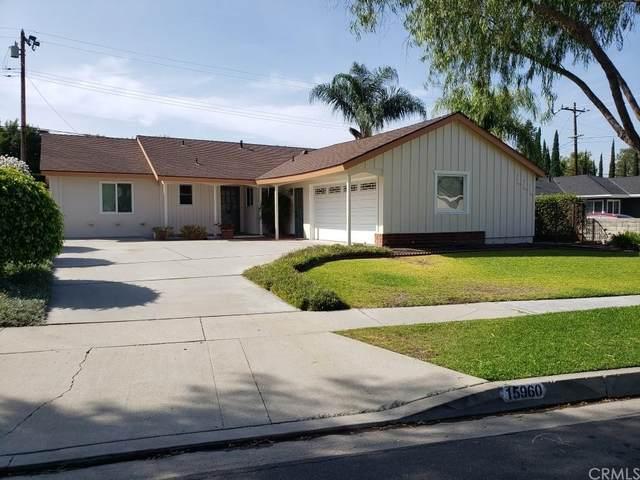 15960 Glazebrook Drive, La Mirada, CA 90638 (#RS21147142) :: Jett Real Estate Group