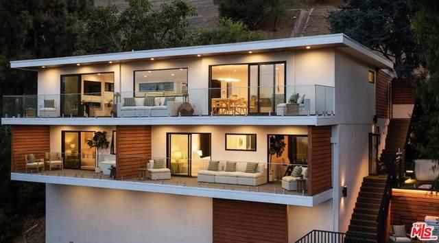 7853 Willow Glen Road, Los Angeles (City), CA 90046 (#21763688) :: Twiss Realty