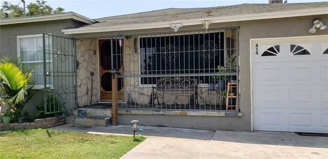 814 W Palmer Street, Compton, CA 90220 (MLS #SR21161399) :: CARLILE Realty & Lending