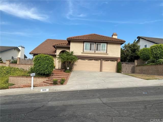 1878 Calle La Paz, Rowland Heights, CA 91748 (#CV21161105) :: Jett Real Estate Group