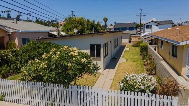 956 W 3rd Street, San Pedro, CA 90731 (#PW21162801) :: Doherty Real Estate Group