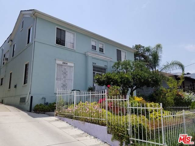 2806 Francis Avenue, Los Angeles (City), CA 90005 (#21765666) :: Holmes Muirhead Team at Reviron Realty