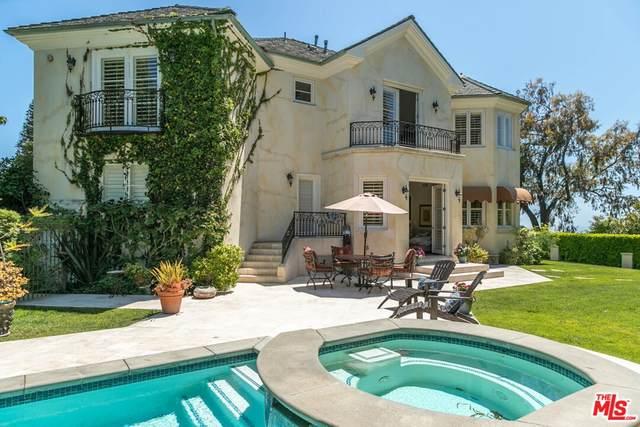 767 Paseo Miramar, Pacific Palisades, CA 90272 (#21762442) :: Legacy 15 Real Estate Brokers