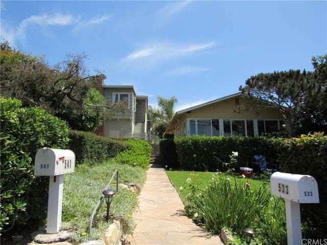 541 Agate Street, Laguna Beach, CA 92651 (#OC21167644) :: Mint Real Estate