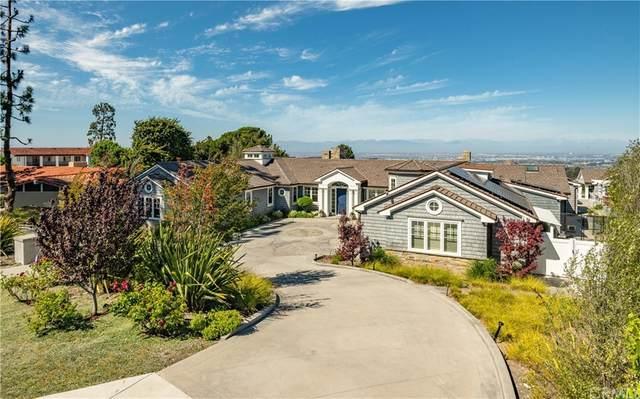 908 Via Mirada, Palos Verdes Estates, CA 90274 (#PV21172982) :: Corcoran Global Living