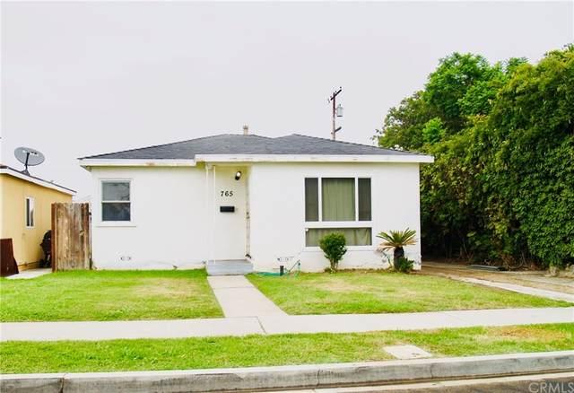 765 E Realty Street, Carson, CA 90745 (#SB21186844) :: Steele Canyon Realty