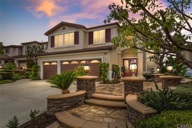 5455 E Full Moon Court, Anaheim Hills, CA 92807 (#OC21191152) :: Steele Canyon Realty