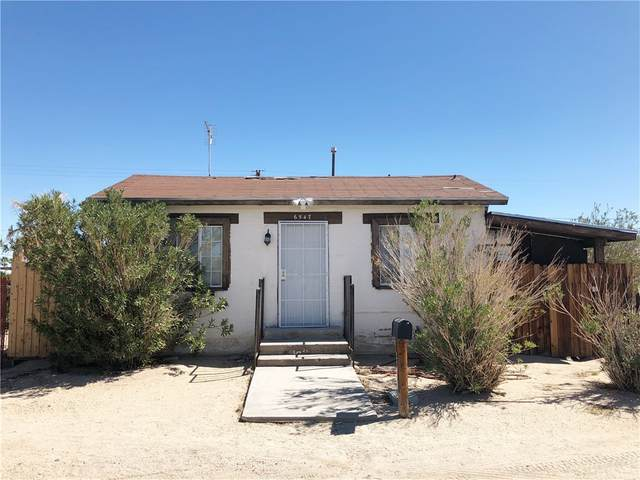 6547 Desert Queen Avenue, 29 Palms, CA 92277 (#PW21199663) :: Team Forss Realty Group