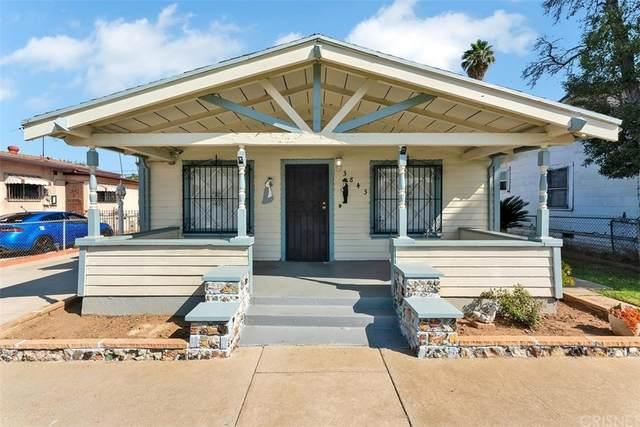 3843 E Cesar E Chavez Avenue, East Los Angeles, CA 90063 (#SR21200124) :: Corcoran Global Living