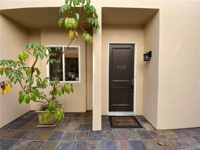 4435 Colfax Avenue #105, Studio City, CA 91602 (#SR21202605) :: The Marelly Group   Sentry Residential