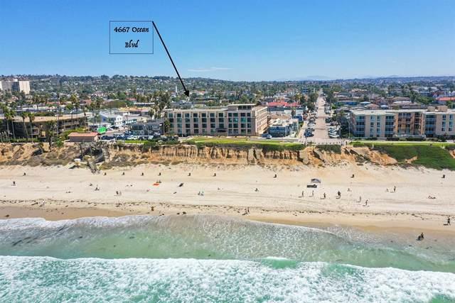 4667 Ocean Blvd #106, Pacific Beach, CA 92109 (#NDP2110731) :: Necol Realty Group