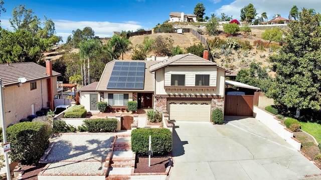 14302 Vista Hills Drive, Lakeside, CA 92040 (#PTP2106616) :: Corcoran Global Living