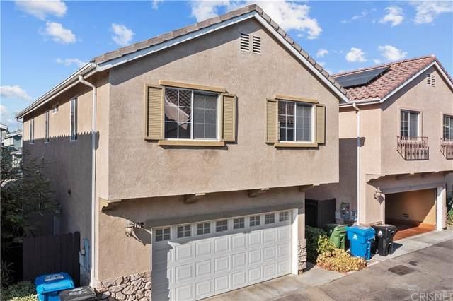 9146 Noble Avenue #102, North Hills, CA 91343 (#SR21206169) :: The Alvarado Brothers