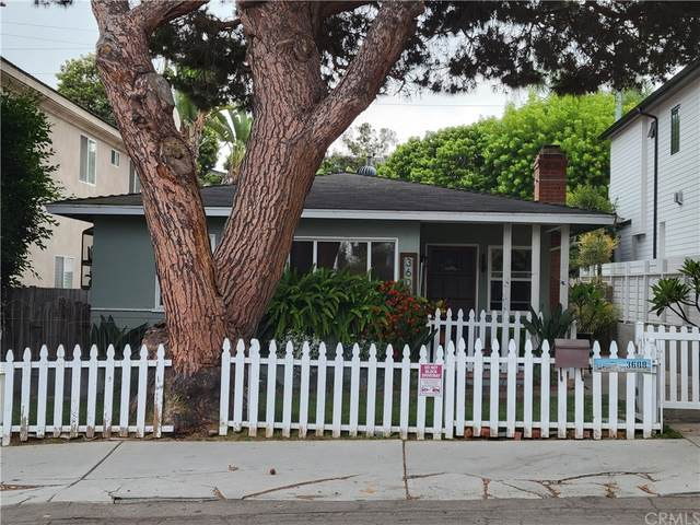 3608 Laurel Avenue, Manhattan Beach, CA 90266 (#SB21205339) :: The Miller Group
