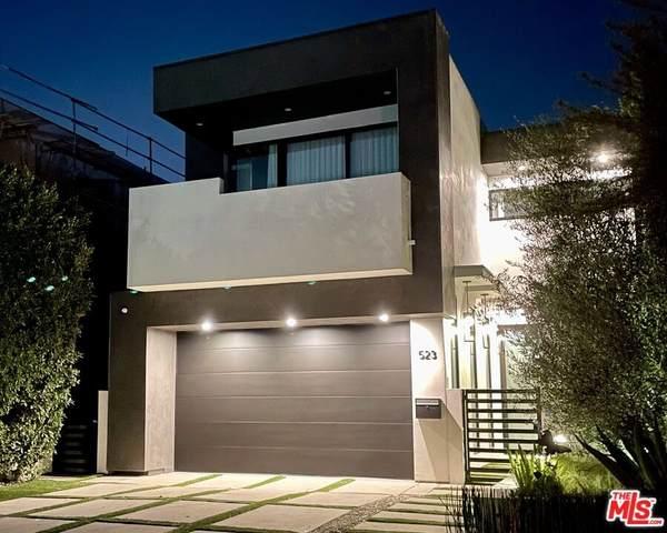 523 N Harper Avenue, Los Angeles (City), CA 90048 (#21785650) :: Blake Cory Home Selling Team