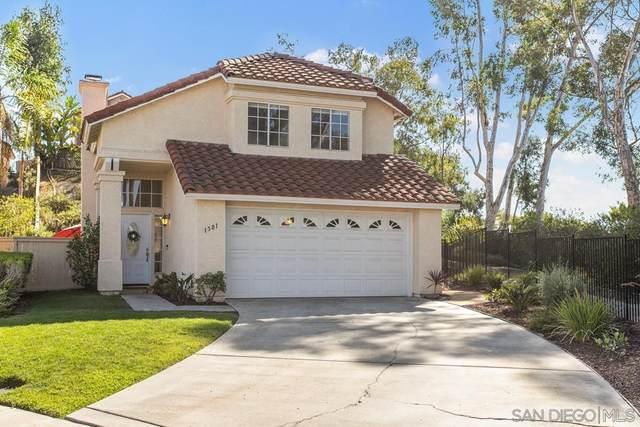 1501 Promontory Ridge Way, Vista, CA 92081 (#210026665) :: Jett Real Estate Group