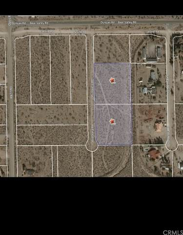 0 Primavera Road, Pinon Hills, CA 92372 (#CV21214799) :: A|G Amaya Group Real Estate