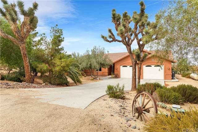 61218 Sandalwood Trail, Joshua Tree, CA 92252 (MLS #JT21218388) :: ERA CARLILE Realty Group