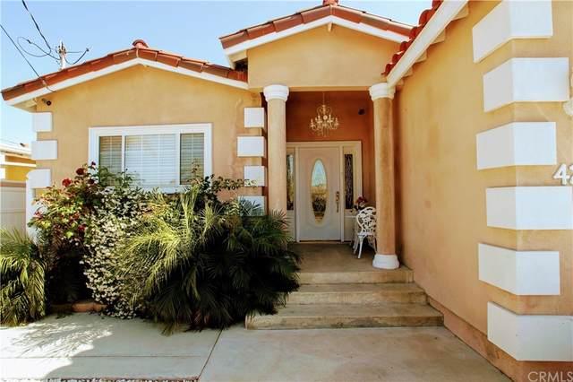 4242 W 133rd Street, Hawthorne, CA 90250 (#DW21220778) :: Blake Cory Home Selling Team