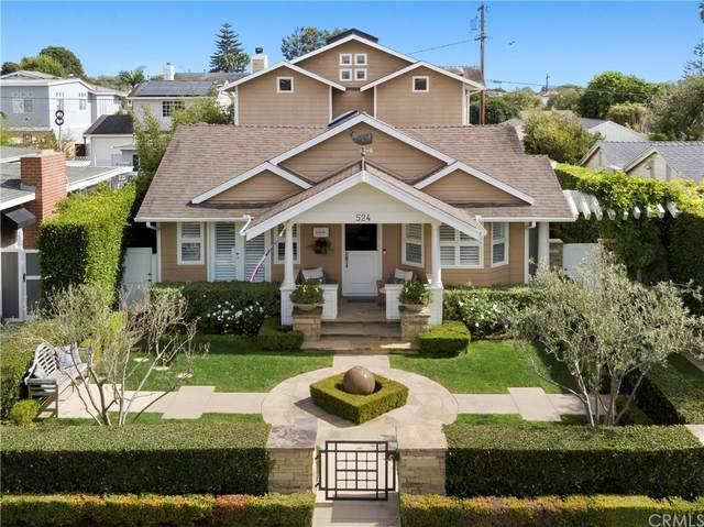 524 Redlands Avenue, Newport Beach, CA 92663 (#NP21220640) :: Corcoran Global Living