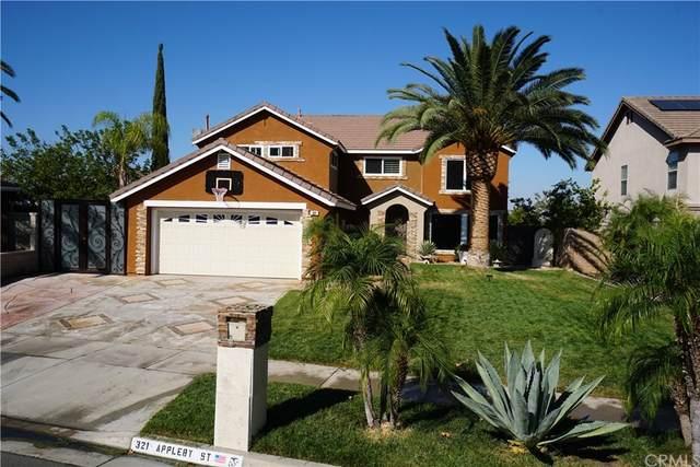 321 Appleby Street, Corona, CA 92881 (#PW21226466) :: Necol Realty Group