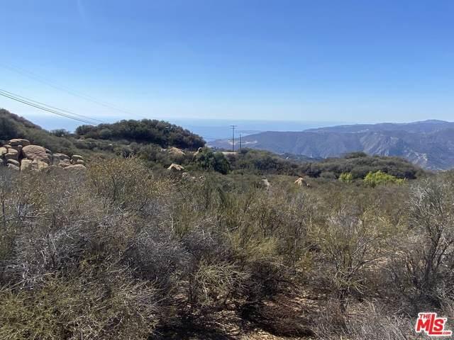 0 W Saddle Peak, Malibu, CA 90265 (#21794558) :: Millman Team