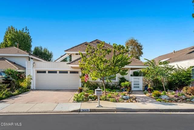 1449 Redsail Circle, Westlake Village, CA 91361 (#221005576) :: Latrice Deluna Homes