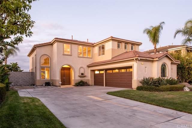 5465 E Full Moon Court, Anaheim Hills, CA 92807 (#OC21228613) :: Latrice Deluna Homes