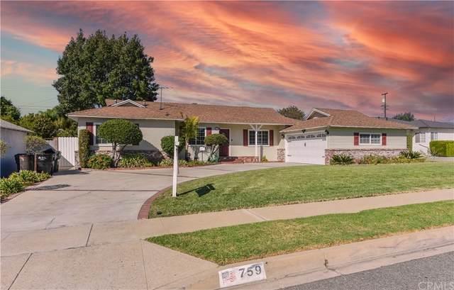 759 E Marilyn Way, Covina, CA 91722 (#TR21229674) :: Blake Cory Home Selling Team