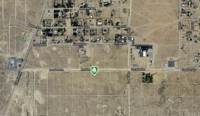 0 Lorraine Avenue, North Edwards, CA 93523 (#IV21230440) :: CENTURY 21 Jordan-Link & Co.