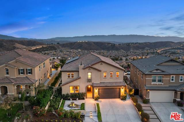 19252 Bension Drive, Santa Clarita, CA 91350 (#21795890) :: EGA Homes