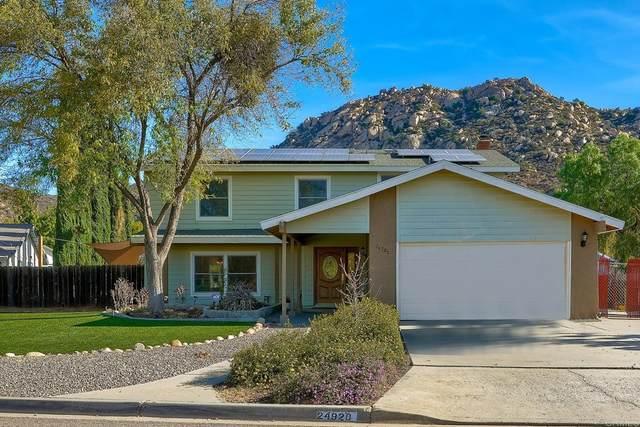 24920 Via Lopez Ct, Ramona, CA 92065 (#PTP2107338) :: Swack Real Estate Group   Keller Williams Realty Central Coast