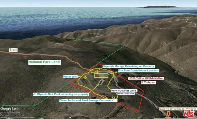 12550 Yellow Hill Road, Malibu, CA 90265 (#21797248) :: Mint Real Estate