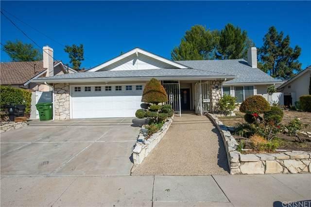 12126 Woodley Avenue, Granada Hills, CA 91344 (#SR21234435) :: Zen Ziejewski and Team