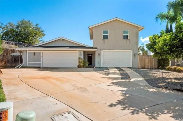872 Lori Court, San Marcos, CA 92069 (#SW21235033) :: Fox Real Estate Team