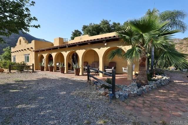 1831 Barrett Lake Road, Dulzura, CA 91917 (#PTP2105121) :: Corcoran Global Living