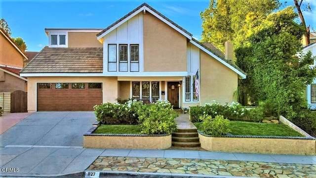 827 Triunfo Canyon Road, Westlake Village, CA 91361 (#V1-7707) :: Steele Canyon Realty