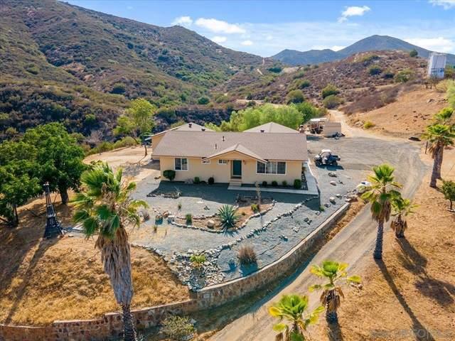 18469 Bee Canyon Rd, Dulzura, CA 91917 (#210023602) :: eXp Realty of California Inc.