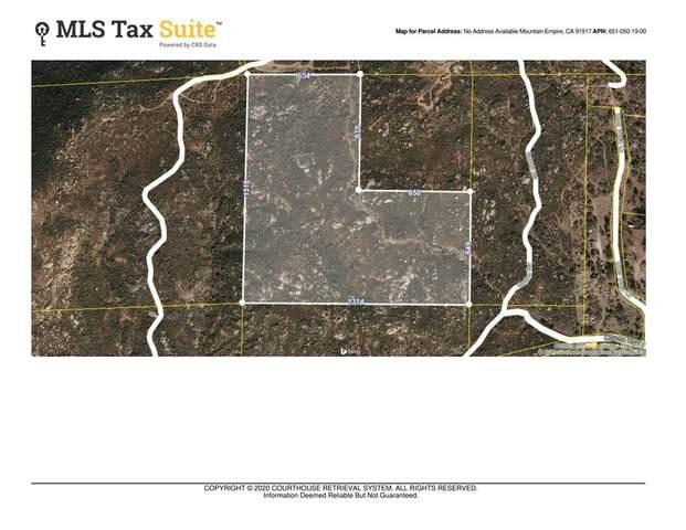 0 Coyote Holler Rd., Potrero, CA 91963 (#200031897) :: RE/MAX Empire Properties
