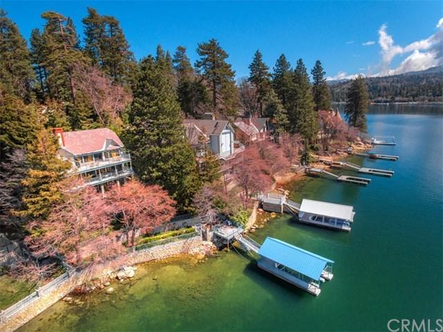 28001 Peninsula Drive, Lake Arrowhead, CA 92352 (#EV17077832) :: Angelique Koster
