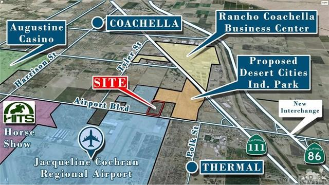 86600 Airport Blvd, 19.5 Ac E Tyler Boulevard, Thermal, CA 92274 (#217014098DA) :: RE/MAX Masters