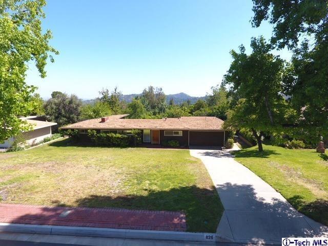 826 Green Lane, La Canada Flintridge, CA 91011 (#317004551) :: Fred Sed Realty