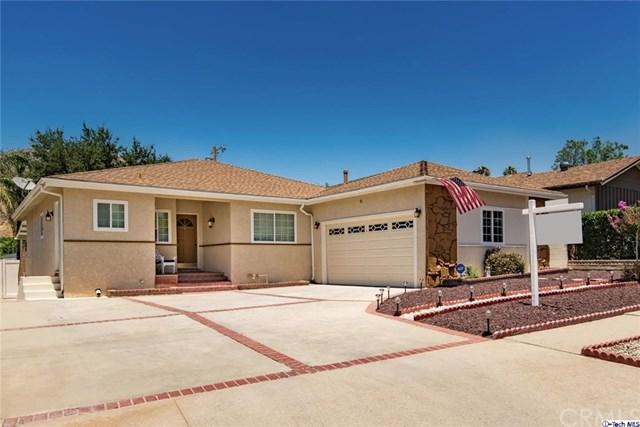 8049 Le Berthon Street Street, Sunland, CA 91040 (#317005236) :: The Brad Korb Real Estate Group